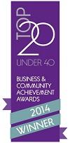 Top 20 under 40 logo 3