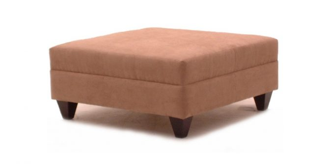 #7010 Ottoman with or without Storage