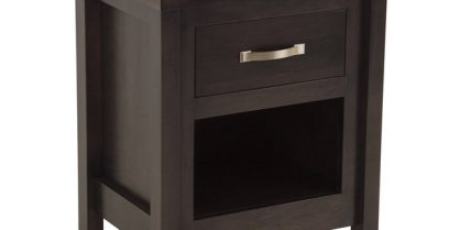 Bowen 1 Drawer / Open Night Stand