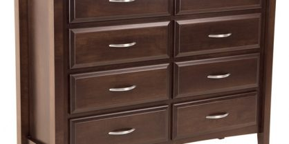 Georgia 8 Drawer Mule Dresser
